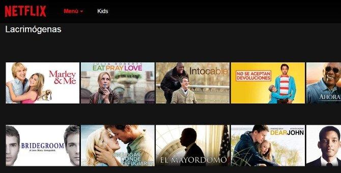 Si te sientes con ganas de llorar, una selección de películas lacrimógenas de Netflix