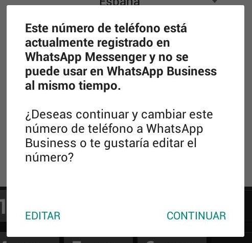 Si tienes WhatsApp, necesitas un segundo número para WhatsApp Business
