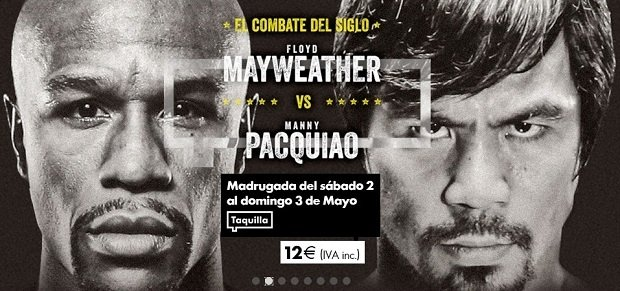 Sigue el combate Mayweater - Pacquiao en Yomvi