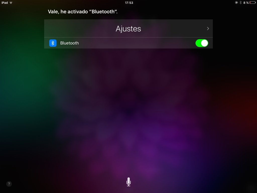 Siri puede modificar los ajustes por ti