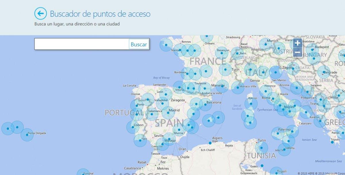 Skype ofrece puntos de acceso Wi-Fi en todo el mundo