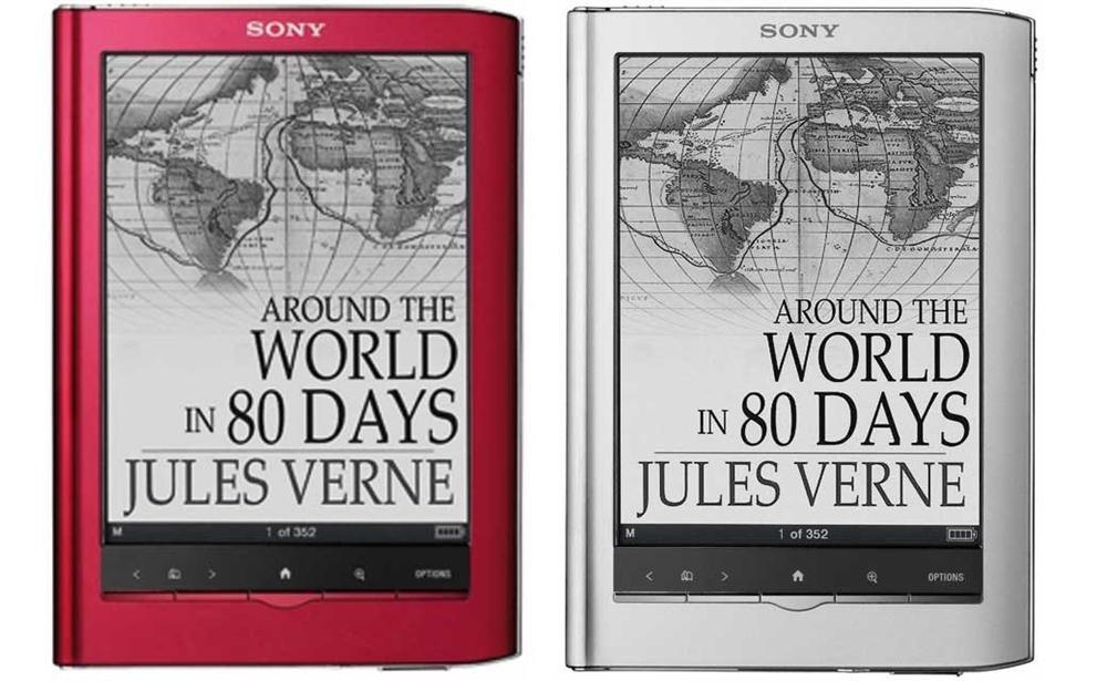 Sony Reader Touch Edition PRS-650 con pantalla táctil