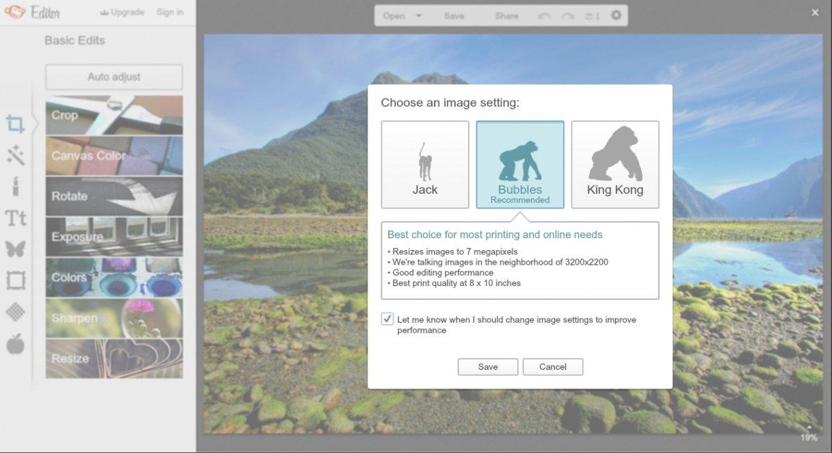 Sorprende lo completo que es PicMonkey para tratarse de una herramienta online