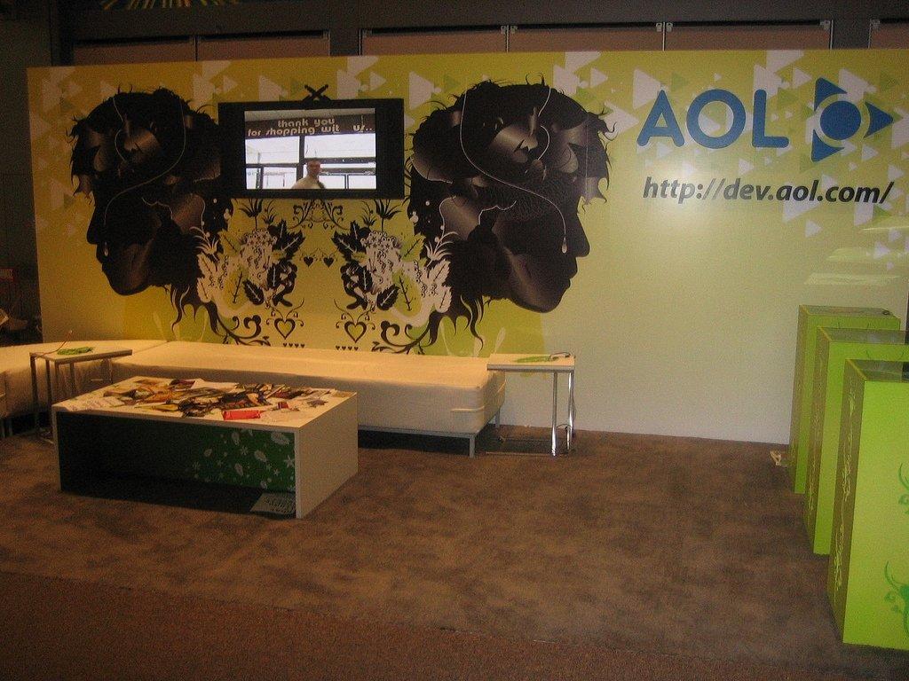 Stand de AOL en SXSW 2007