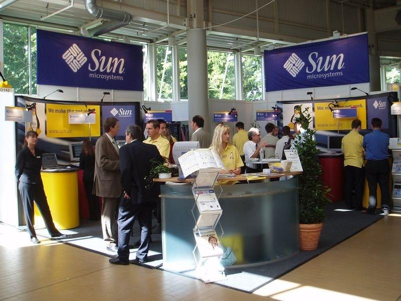 Stand de Sun Microsystems en Linuxtag 2004