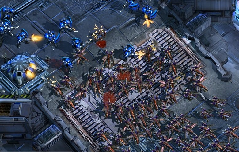 Starcraft II, uno de los precursores de los tower defense
