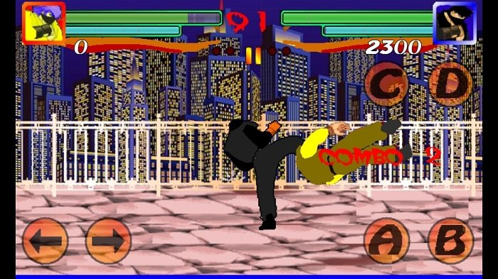 Street of fighter y el Paint