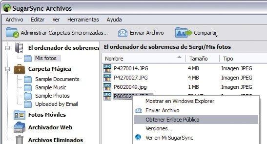 SugarSync 7