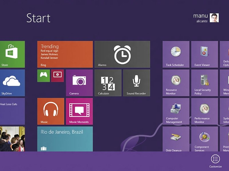 Sumario 262 Software Windows Blue