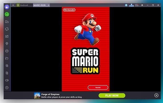 Super Mario Run instalado