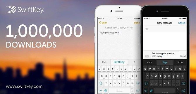 SwiftKey para iOS 8 alcanza 1millón de descargas en menos de 24 horas - imagen 2