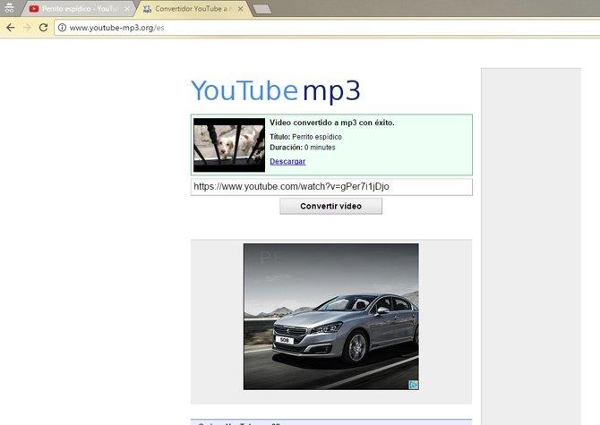 Tan fácil como pegar el enlace y descargar el audio, sin marear la perdiz