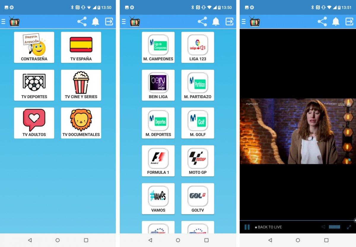 TeLeGorda se especializa en canales de TV de España
