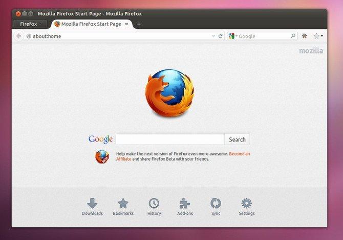 Tema visual Australis para Firefox en Ubuntu