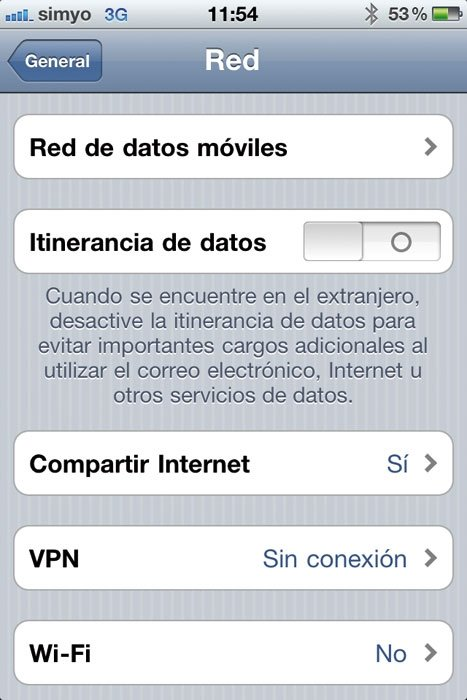 Tethering smartphone ios 1