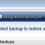 Acronis True Image Home 2009: un backup de tu PC