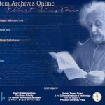 Los manuscritos de Albert Einstein llegan a Internet
