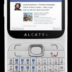 Alcatel One Touch 813F, con acceso directo a Facebook