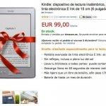 El Kindle ya está disponible en España por 99 euros