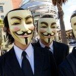 Anonymous se cuela en la fiesta del cine español