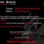 Anonymous tira la web de Mastercard por bloquear a WikiLeaks