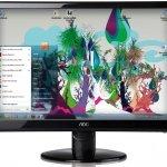 Monitor LED con panel IPS AOC LED i2352Vh