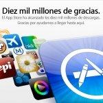 La App Store alcanza 10.000 millones de descargas