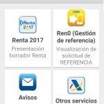 Cómo presentar la declaración con la app de la Agencia Tributaria