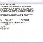 Bloquea el acceso a páginas web con el archivo hosts