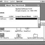 Un Apple Watch ejecutando un sistema operativo Mac OS de hace 20 años