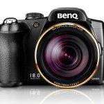 Cámara compacta BenQ GH800 con zoom óptico de 36x y 18 Mpx