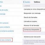 Cómo bloquear llamadas en el iPhone