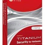 Suite de seguridad Trend Micro Titanium 2.20