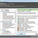 CCleaner, realiza más limpieza que optimización
