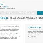 II Concurso de blogs para la promoción del español en Internet