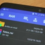 Cómo abrir o descomprimir archivos ZIP y RAR en Android