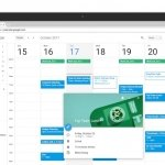 Google Calendar se actualiza
