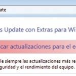 Dificultades para instalar actualizaciones