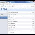 Reproduce la música que guardas en tu Dropbox