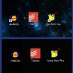 Elimina las flechas de los iconos de acceso directo en Windows
