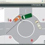 Haz un croquis de accidente de vehículos