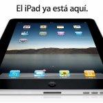 Hoy llega oficialmente el iPad a España