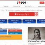 Cómo convertir un PDF en un Excel