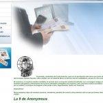 La web de AEDE hackeada por Anonymous