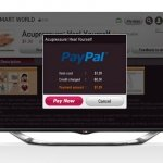 LG incluye PayPal como opción de pago en sus Smart TV