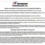 Nace la Asociación Europea para la defensa del Dominio Público