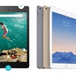 Comparativa Nexus 9 vs iPad Air 2