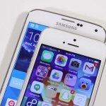 Apple y Samsung, juntos y también revueltos