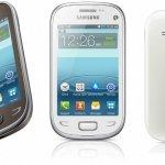 Samsung lanza la familia de móviles Rex en países emergentes