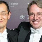 Linus Torvalds recibe el Premio Millenium de Tecnología